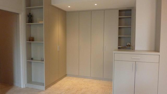 meuble sur plan,mdf et peinture